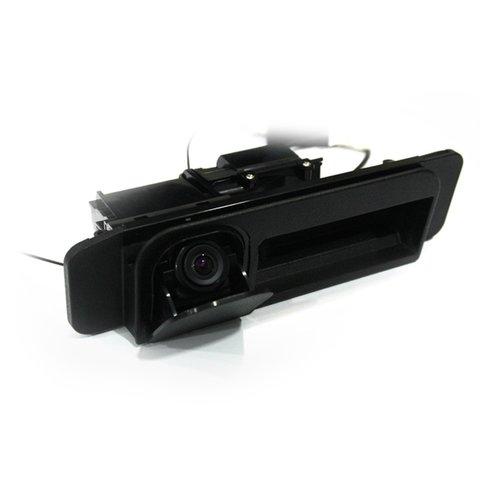 Камера заднего вида в ручку багажника Mercedes-Benz C и S класса