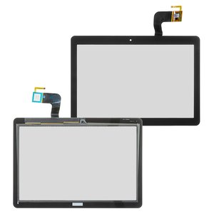 Touchscreen compatible with Acer Iconia One B3-A10, (black)