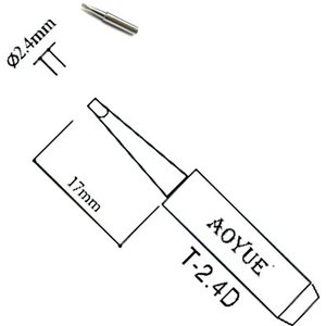 Soldering Iron Tip AOYUE T-2.4D
