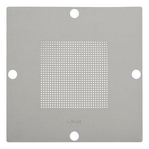 Universal BGA Stencil for ACHI 56, LP-37 BGA Reballing Kits;ACHI Reballing Stand BGA Reballing Stand, (diameter 1.0 mm, pitch 1.5 mm)