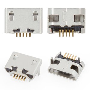 Charge Connector compatible with Lenovo Tab 2 A7-30, (5 pin, micro USB type-B)