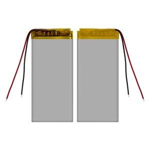 Battery, (78 mm, 35 mm, 3.0 mm, Li-ion, 3.7 V, 850 mAh)