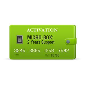 Micro-Box: activación de soporte durante 2 años