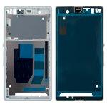 Рамка крепления дисплея Sony C6602 L36h Xperia Z, C6603 L36i Xperia Z, C6606 L36a Xperia Z, белая