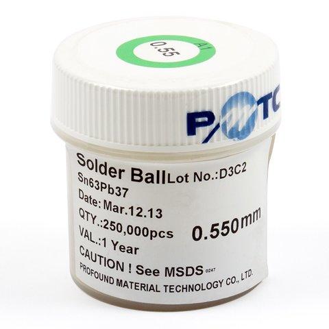 BGA кульки ACHI 0,55 мм