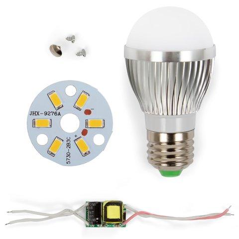 Комплект для збирання світлодіодної лампи SQ Q01 5730 3 Вт теплий білий, E27