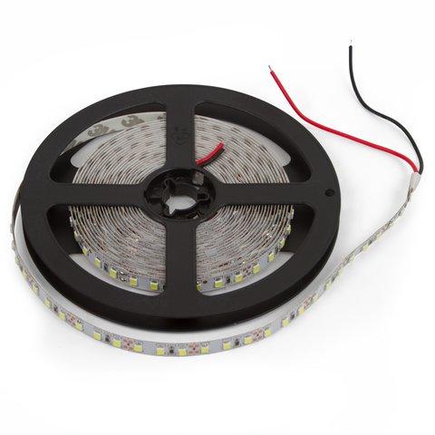 Світлодіодна стрічка SMD2835 над'яскрава, монохромна, холодний білий, 60 світлодіодів м, 5 м, IP20