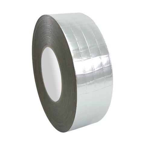 Стрічка алюмінієва одностороння армована HPX 75 мм, 50 м, 0,03 мм