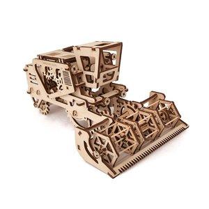 Механічний 3D-пазл UGEARS Комбайн