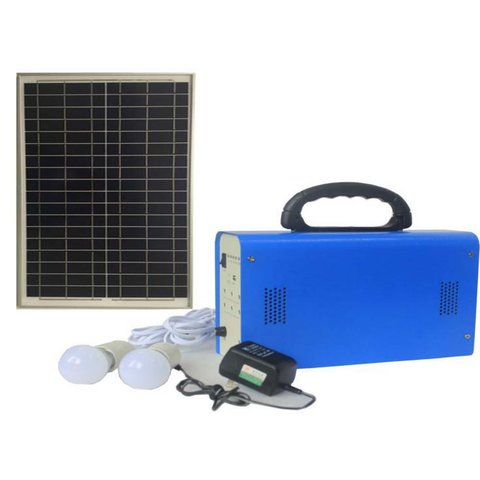 DC Portable Solar Power System, 30 W, 12 V 18 Ah, Poly 18 V 30 W